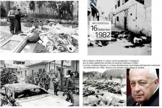 AccaddeOggi   #16settembre 1982 – Massacro di Sabra e Shatila