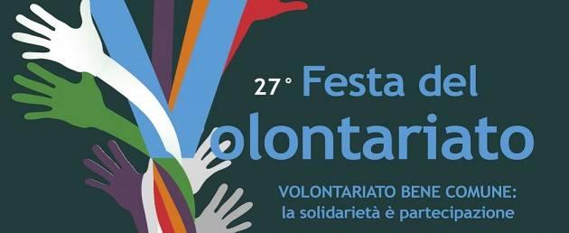 Cremona FestaVolontariato2018  si terrà domenica 23 settembre  con 132 stand  e 800  volontari