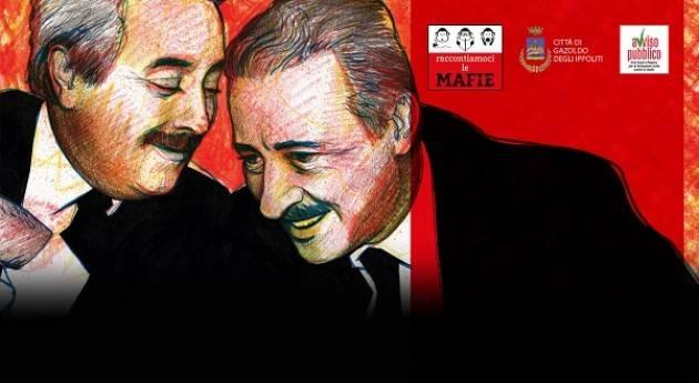 Rassegna 'Raccontiamoci le mafie' il 28 settembre a Gazoldo degli Ippoliti (MN)