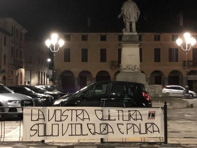 Forza Nuova a Soresina: condanna degli atti fascisti  di Emanuele Coti Zelati e Paolo Losco