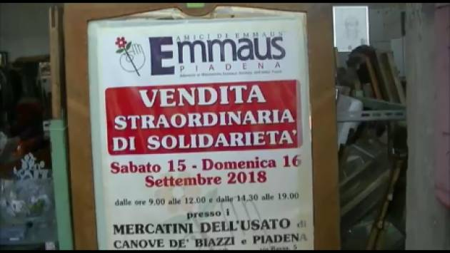 (Video) Un successo i mercatini di Solidarietà 2018 Emmaus di Piadena e Canove de Biazzi