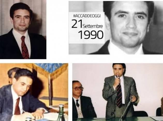 AccaddeOggi   #21settembre 1990 - Il giudice Rosario Livatino viene assassinato, a soli 38 anni, in Sicilia