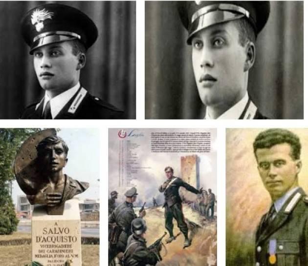 AccaddeOggi   #23settembre Salvo d'Acquisto si offre in cambio della vita di 22 civili rastrellati dai tedeschi