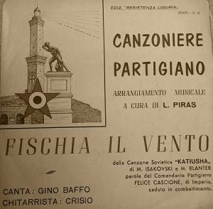 (Musica) La canzone 'Fischia il Vento' fu scritta  nel casone di 'U Passu du Beiu' in Liguria