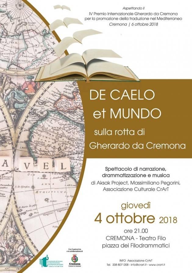 Terzo ed ultimo incontro del ciclo di conferenze 'Ai tempi di Gherardo da Cremona'