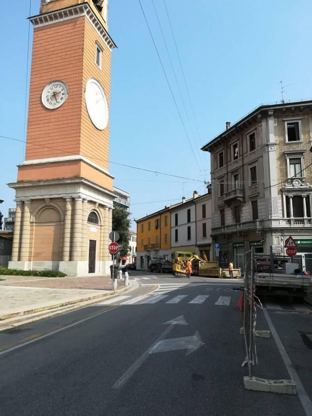 Soresina  Dal 25 al 29 settembre  riparazione acquedotto via Genala-Viale Matteotti