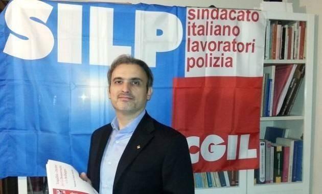 ETTARI Guido (Silp-Cgil) Anche i poliziotti sono lavoratori e discutono di Lavoro e Pensioni