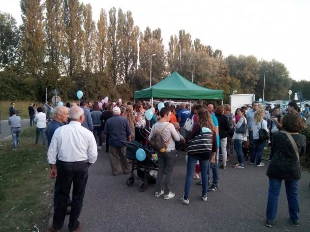 Venerdì 28 settembre Tanta gente alla manifestazione a difesa Ospedale Oglio Po