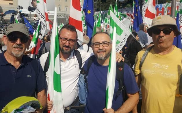 Roma, manifestazione PD. Piloni: 'Una bellissima piazza. Da qui per ripartire!'