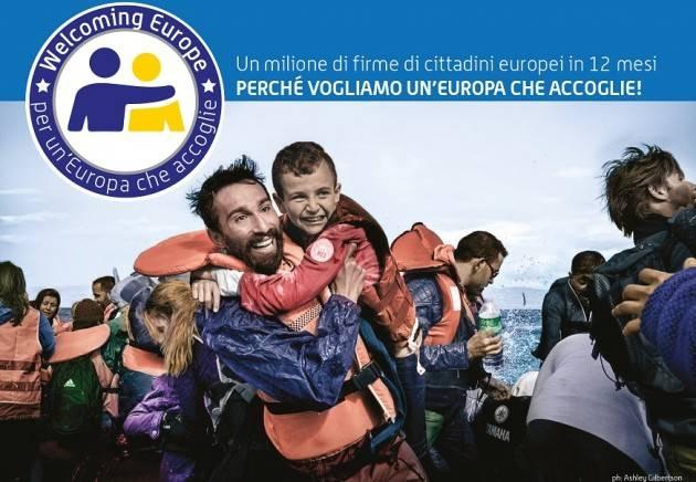 EMMAUS  SOSTENIAMO L'INIZIATIVA WELCOMING EUROPE – PER UN'EUROPA CHE ACCOGLIE