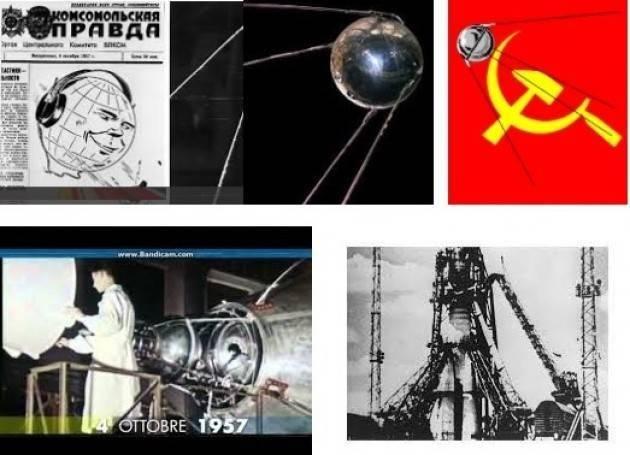 AccaddeOggi    #4ottobre 1957 – Lancio dello Sputnik 1, il primo satellite artificiale ad orbitare attorno alla Terra
