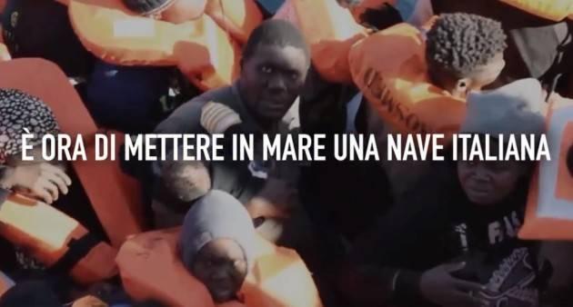 Pianeta Migranti. Una nave italiana nel Mediterraneo per salvare vite e la nostra dignità di popolo civile (Video)