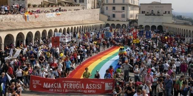 MarciaPace2018  Perugia-Assisi  Oltre 500 cremonesi alla manifestazione