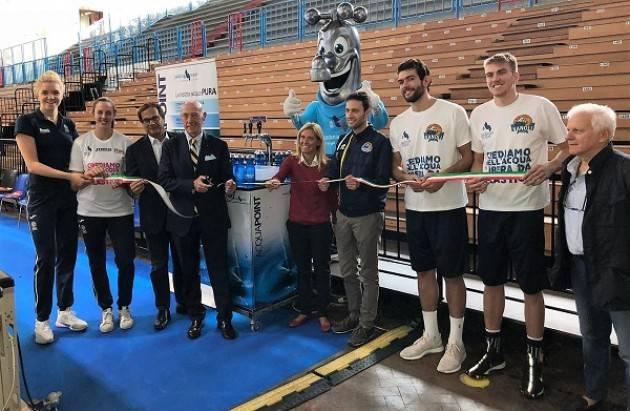 Padania Acque L'acqua vince sul campo: Vanoli Basket e Pomì Casalmaggiore hanno scelto l'acqua del rubinetto