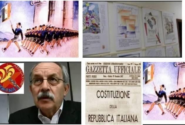Associazione 25 Aprile Cremona  Progetto Conoscere la Costituzioe. Formare alla cittadinanza Avvio  5° edizione 2018-2019