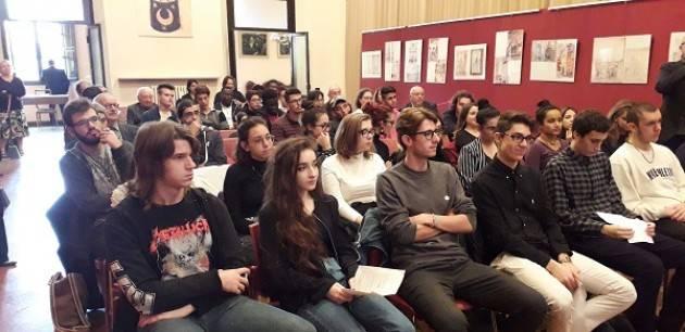 Cremona: consegna del Premio Barbieri presso il salone della Fondazione Città di Cremona