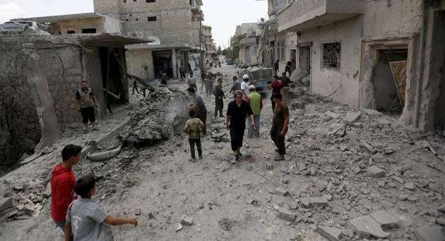 Amnisty SIRIA: CON L'ISTITUZIONE DELLA ZONA 'DEMILITARIZZATA', I CIVILI DI IDLIB SONO ANCORA IN PERICOLO.