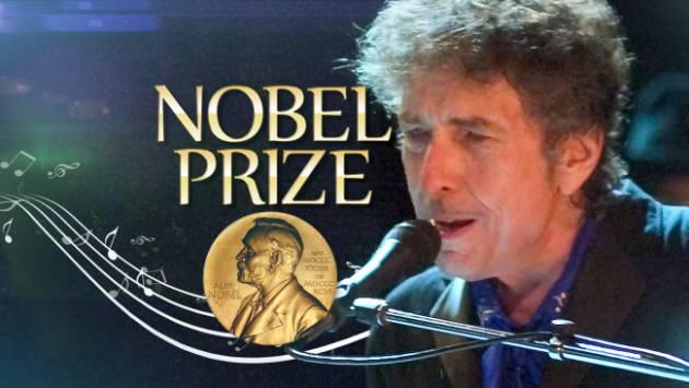 AccaddeOggi   #13ottobre  2016 – Bob Dylan riceve il premio Nobel per la Letteratura
