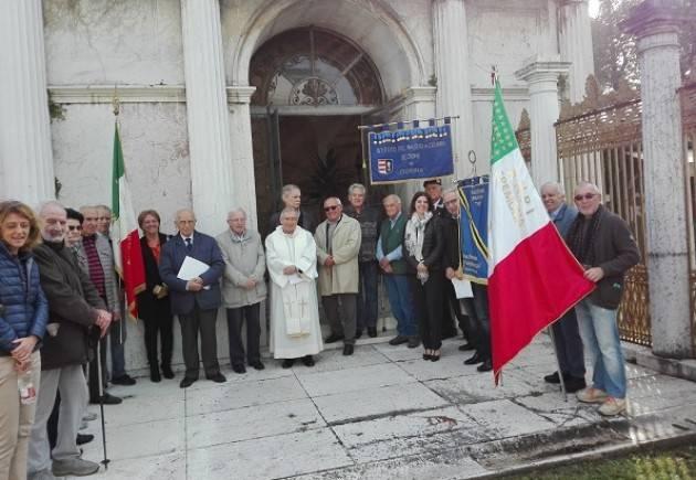 Cremona Mattinata dedicata alla commemorazione dei F.lli Di Dio al civico cimitero cittadino | Giorgio Carnevali
