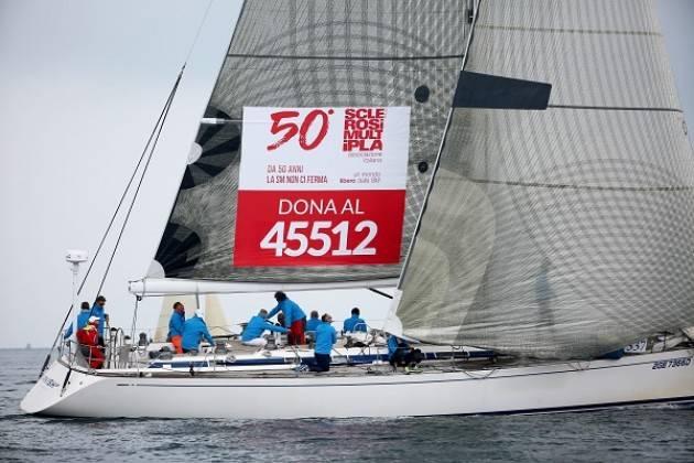AISM e Barcolana celebrano 50 anni La ricerca di AISM in gara a Trieste