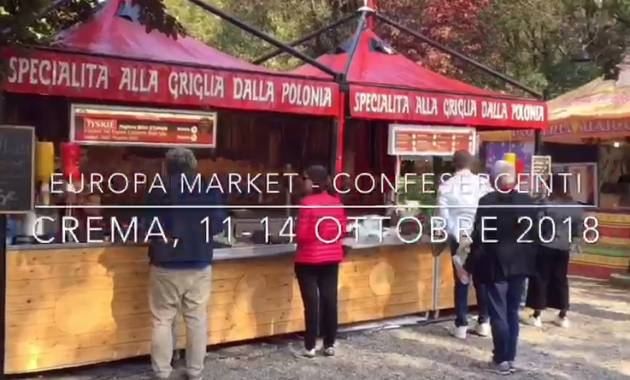 Iniziativa Confesercenti Ai cremaschi lo street food piace (Video)