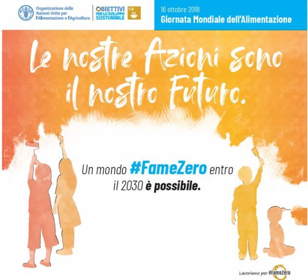 #FameZero: Dussmann a sostegno di FAO per la Giornata Mondiale dell'Alimentazione