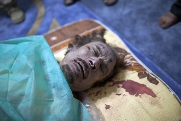 AccaddeOggi   #20ottobre 2011-Libia: dopo 8 mesi di guerra civile, viene ucciso Mu'ammar Gheddafi