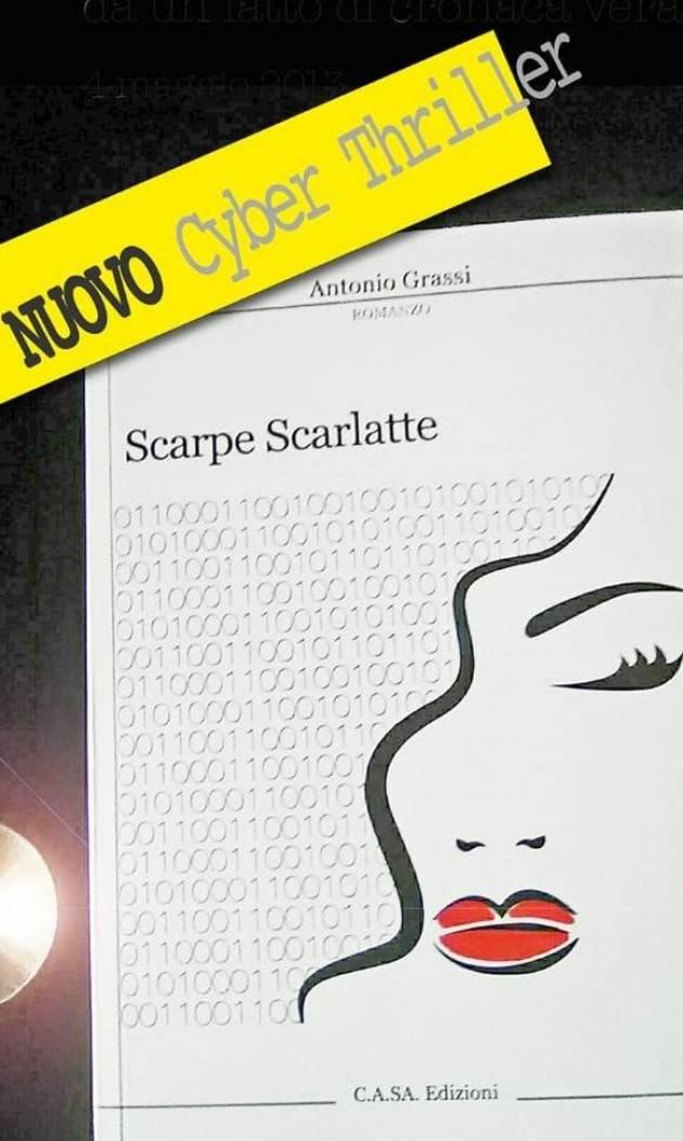 L'ECOLIBRI Crema Emiliano Zanolli presenta 'Scarpe Scarlatte' di Antonio Grassi il 25 ottobre