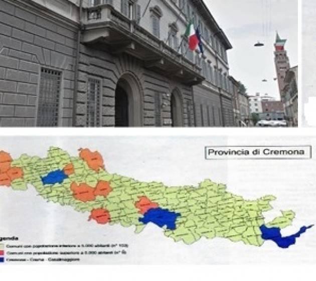 L'ECODOSSIER   La Comunità Socialista Cremonese su rinnovo Consiglio Provinciale del 31 ottobre