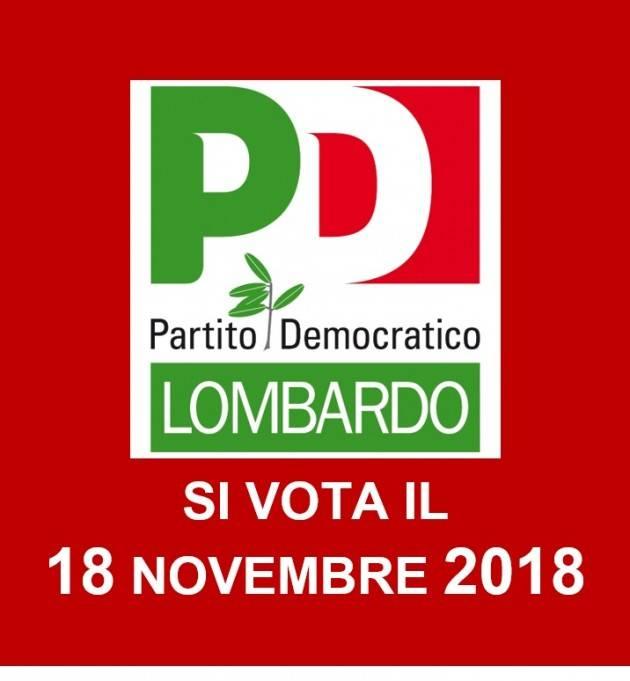 Verso Congresso PD Lombardo: Comincini e Peluffo i candidati alle primarie del 18 novembre