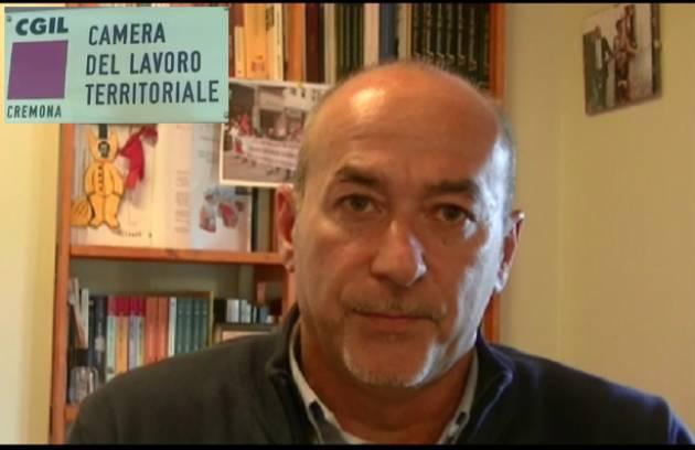 (Video) Cremona  XI Congresso 2018 Cgil  Intervista con Marco Pedretti Segretario Generale
