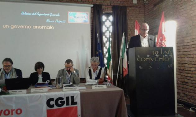 (Video) CGIL IL LAVORO E' -  I VIDEO DELL' IX Congresso di Cremona che si è APERTO CON LA RELAZIONE DI MARCO PEDRETTI