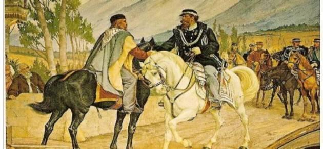 AccaddeOggi   #26ottobre 1860 A Teano Incontro tra Garibaldi e Vittorio Emanuele II