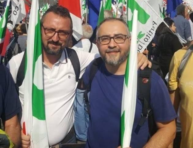 Matteo Piloni soddisfatto .Vittore Soldo è il candidato unitario alla segreteria provinciale del PD di Cremona.