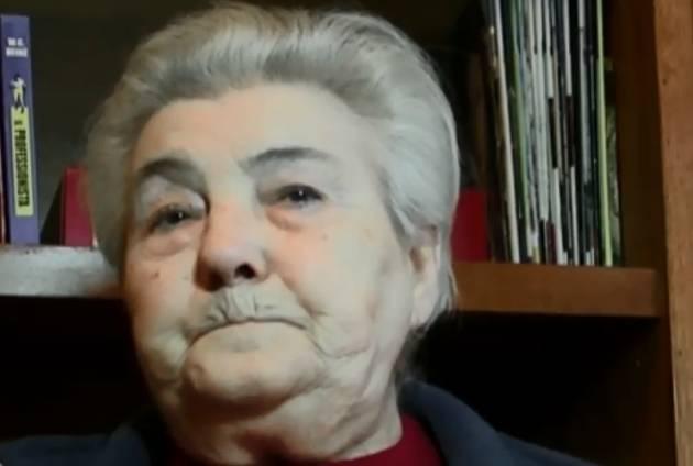 (Video) Marisa Priori Dolci se né andata , una patriota che spesso diceva 'E' sempre 25 aprile' di Gian Carlo Storti