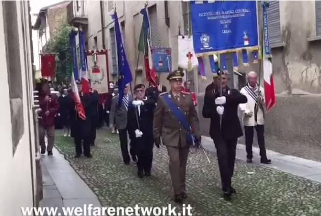 (Video) Crema  Le celebrazioni del IV Novembre di  Emanuele Mandelli