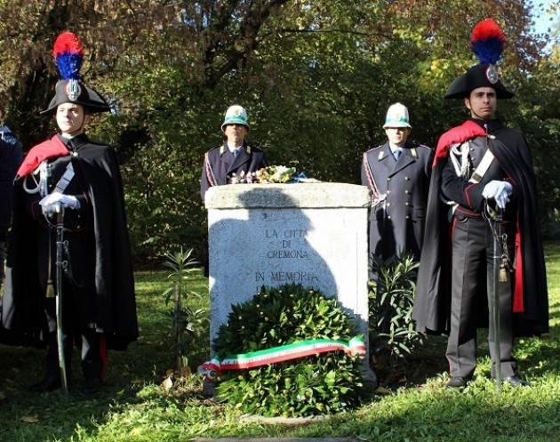 Cremona: il 12 novembre cerimonia di commemorazione al parco Caduti di Nassiriya