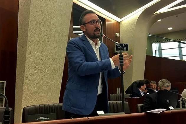 Report Matteo Piloni (Pd) in Regione Lombardia , martedì 6 novembre