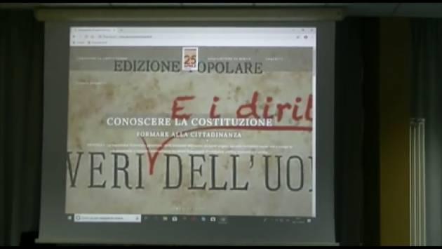(Video)  A Cremona Bergonzi e Sarfatti presentano il sito Archivio Conoscere la  Costituzione