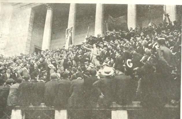 L'ECOSTORIA  CENTENARIO 1914-1918 GLI ANARCHICI INTERVENTISTI di Agostino  Melega