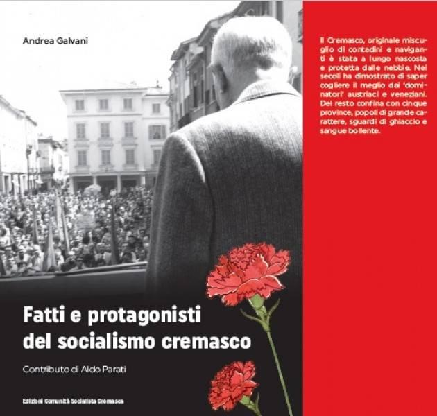 Presentazione libro Fatti e protagonisti del Partito socialista cremasco il 1 dicembre