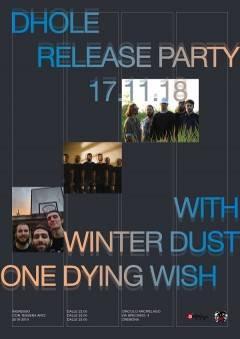 Cremona: sabato 17/11 al Circolo Arcipelago il Release Party del nuovo disco dei Dhole