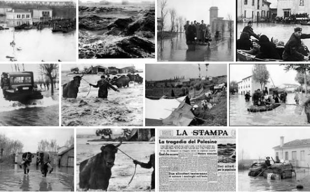 AccaddeOggi   #14novembre 1951 – Rotta del Po e alluvione nel Polesine
