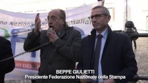 Con i giornalisti in piazza senza se e senza ma di Gian Carlo Storti