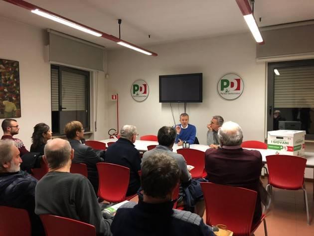 Verso Congresso regionale Pd, martedì 13 incontro con Eugenio Comencini