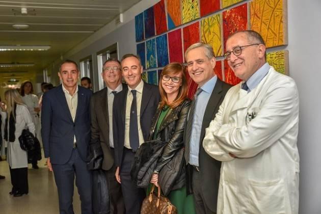 Il Day Hospital Oncologico del Policlinico di Pavia è stato arredato da Cancro Primo Aiuto