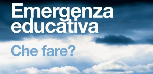 EMERGENZA EDUCATIVA  di  VINCENZO ANDRAOUS  (CDG Pavia)