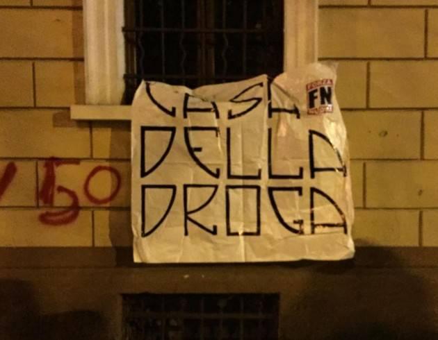 Cremona 'CASA DELL'ACCOGLIENZA? NO, CASA DELLA DROGA' Rispondiamo con manifestazione antirazzista sabato 15 dicembre