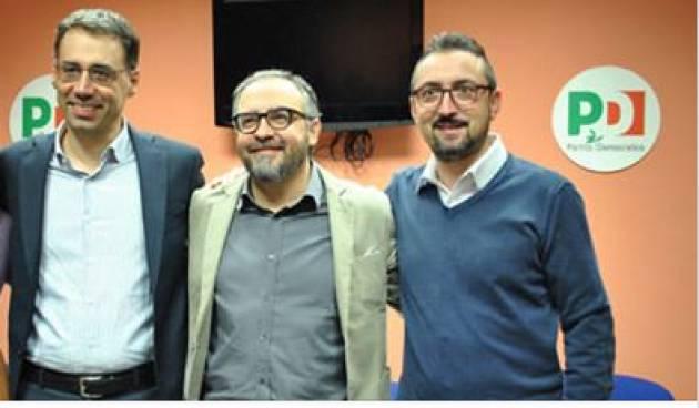 Cremona Congresso PD Vittore Soldo Nuovo Segretario Provinciale Soddisfazione di Matteo Piloni