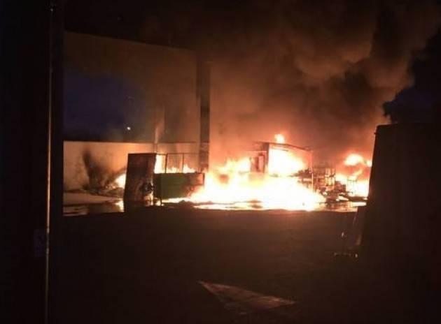 Incendio discarica di via San Rocco : le telecamere non ci sono di Elia Sciacca